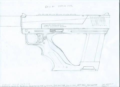 Deus Ex - Steal Pistol Redesign Schematic V2.1