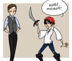 Sherlock - Pirate by wingedness