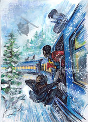 Trans-Siberian Railway by Dasha-KO