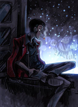 Evening Lupin