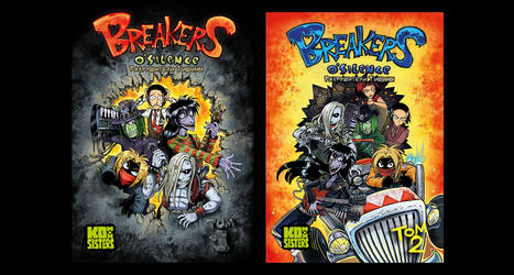 Breakers - cover cocepts of 1 an 2 volumes