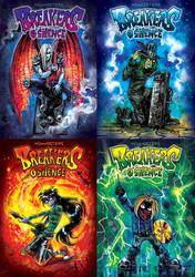 Breakers book - exclusive covers