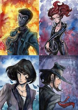 Lupin's band