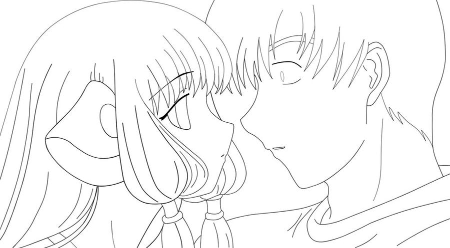 Chobits coloring book