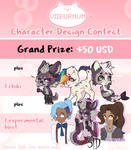 Character Design Contest (CLOSED) by Viiburnum