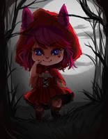 MaiyukiKitsuki Halloween Commission by oWinTer