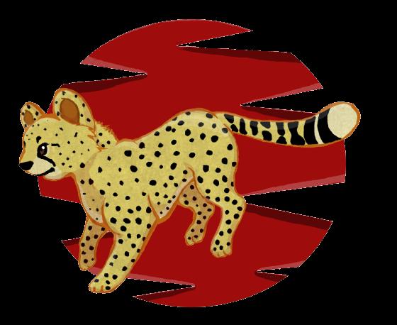 Running Cheetah by RunningSpud