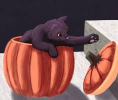 Pumpkat by RunningSpud