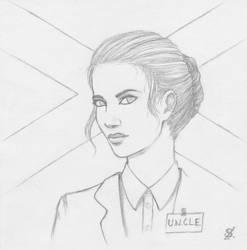 U.N.C.L.E. agent : Clare Williamson