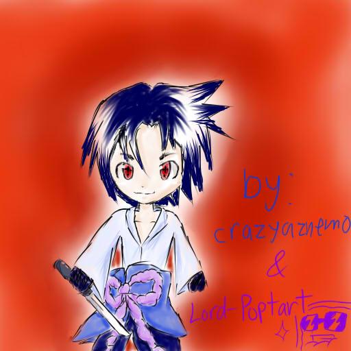 Sasuke Uchiha by crazyaznemo