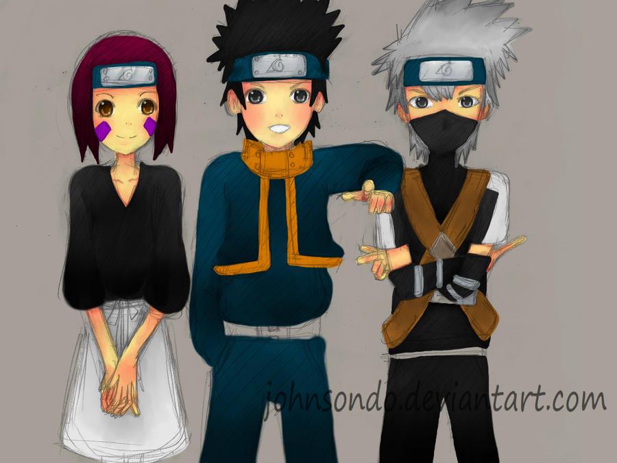 Team Minato, Friends of The Past by MasterAki
