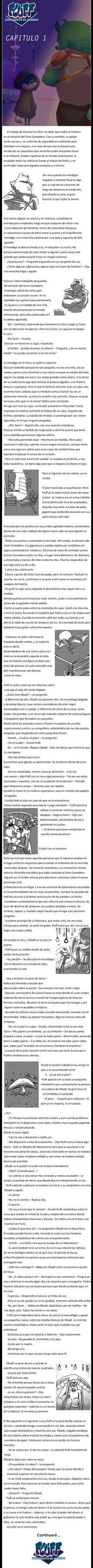 Fluff conquista el mundo- Cap1 by Paumol