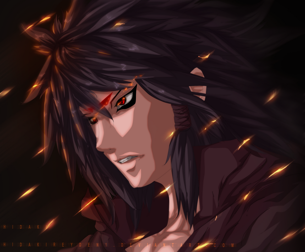Indra otsutsuki - Naruto Fanart by Hidakireyden1