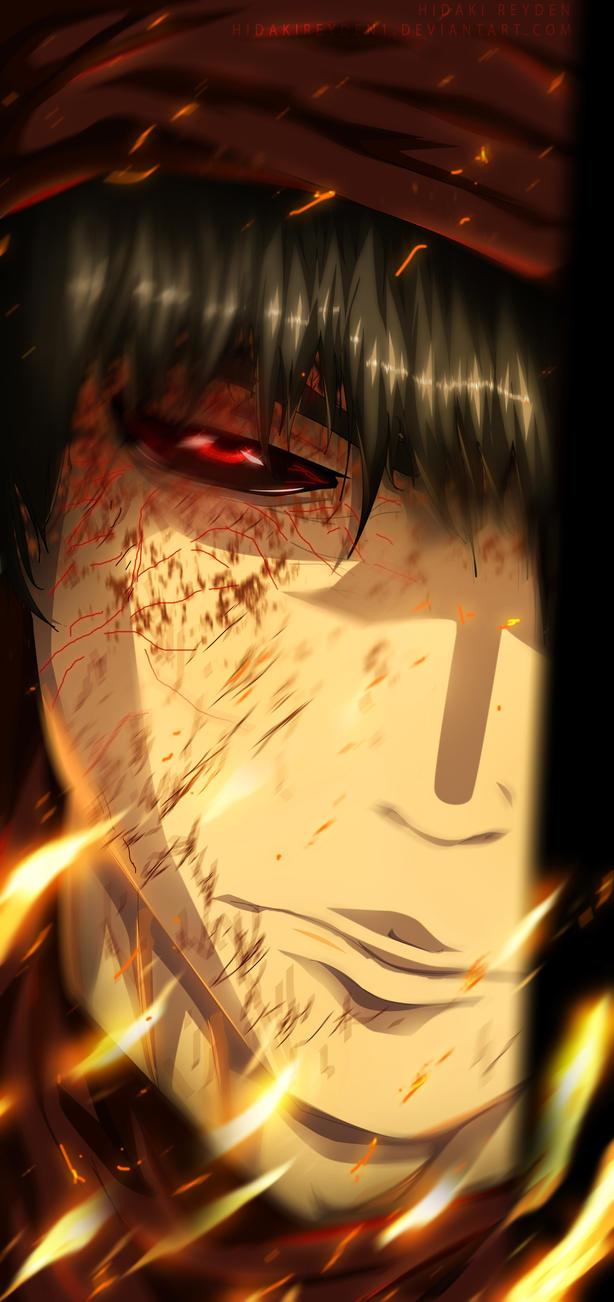 Half ghoul Amon - Tokyo ghoul re 92 by Hidakireyden1