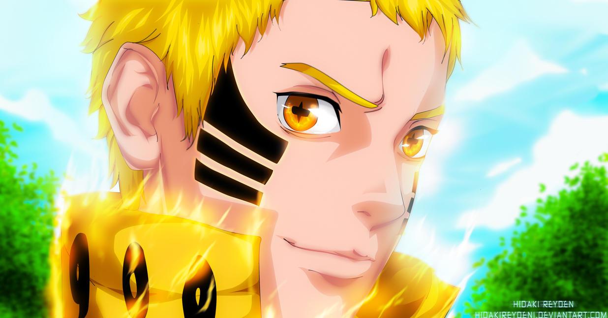 Super Saiyan Naruto - Boruto 5 by Hidakireyden1