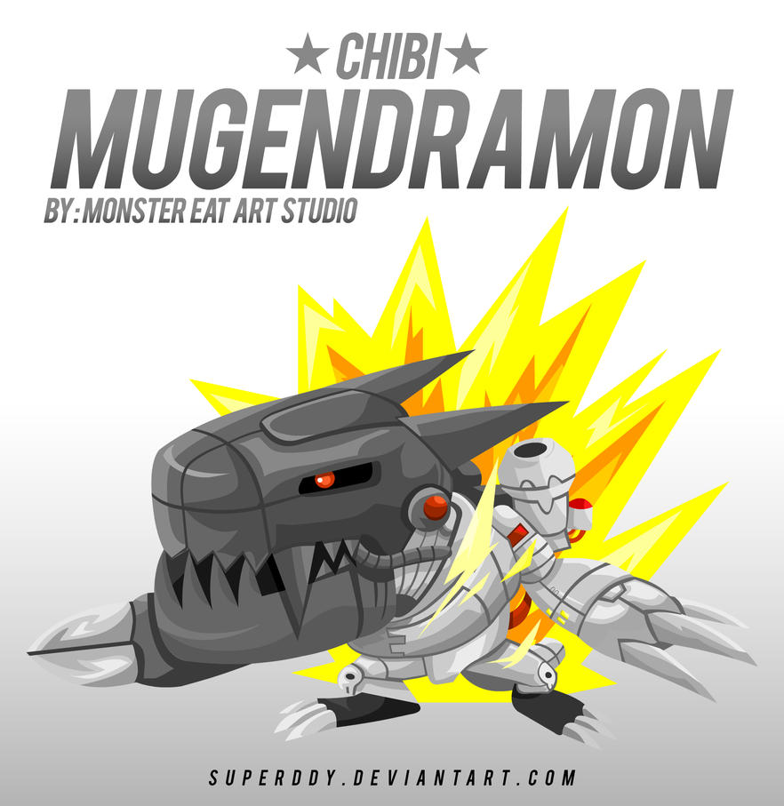 digimon chibi mugendramon by superddy