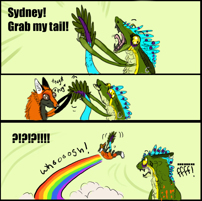 SYDNEY GRAB MY TAIL by SunStateGalleries