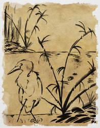 Egret by SunStateGalleries