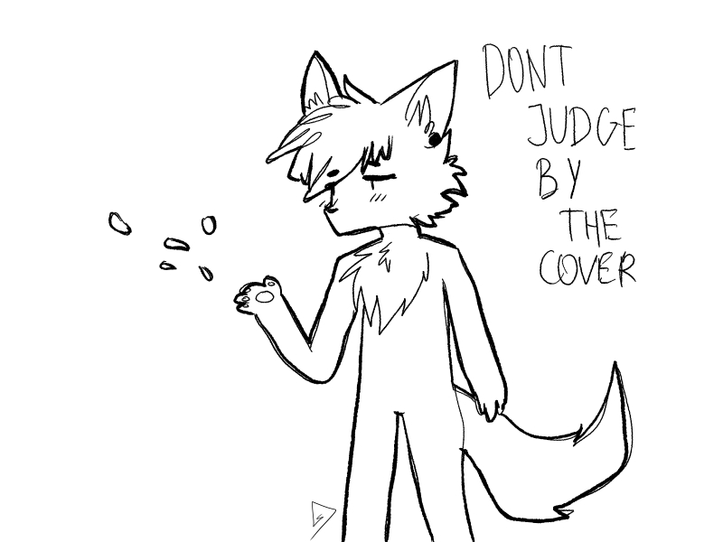 dont judge by the cover by justsammydark