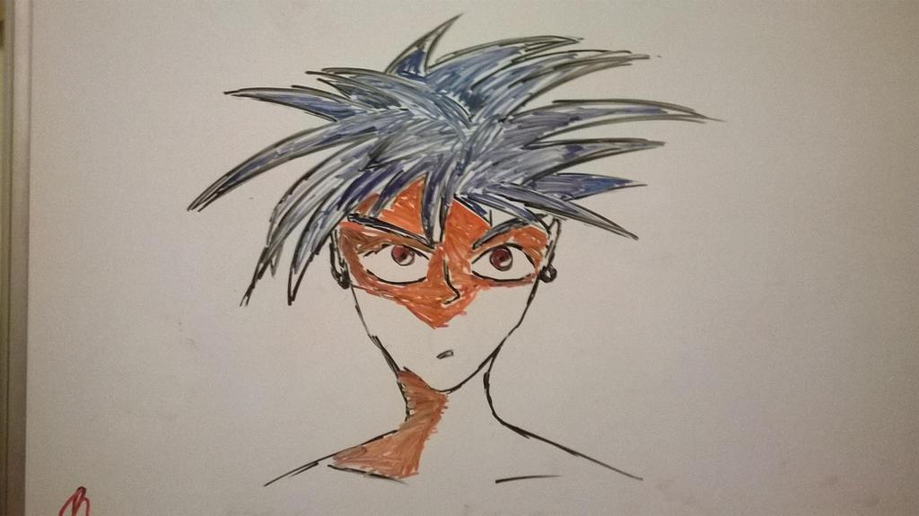 Xaro -on whiteboard- by NinjaXaro