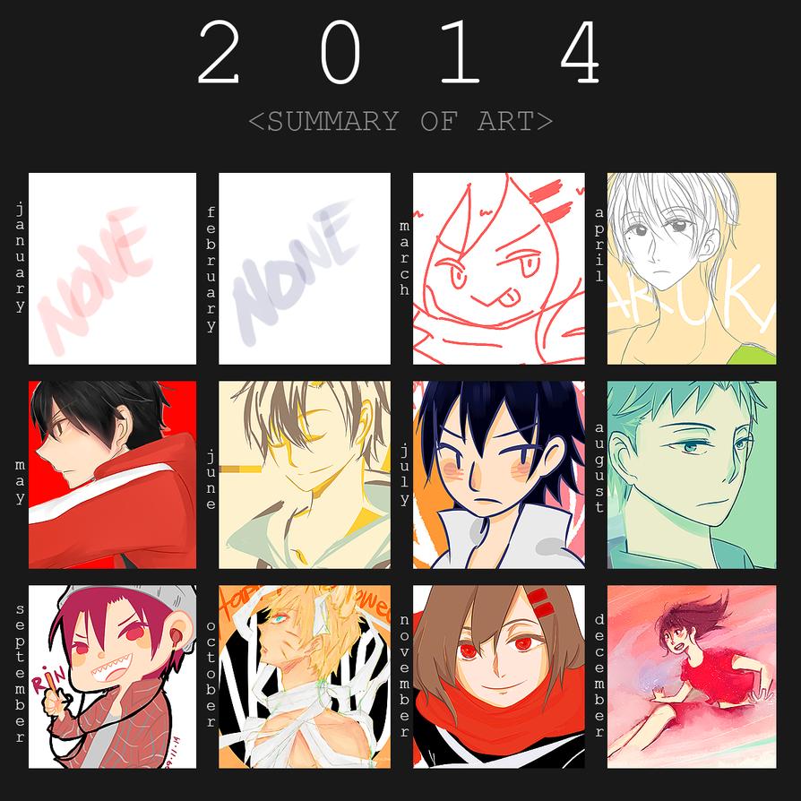 Hima's Summary Art 2014 by TAIIIYOU