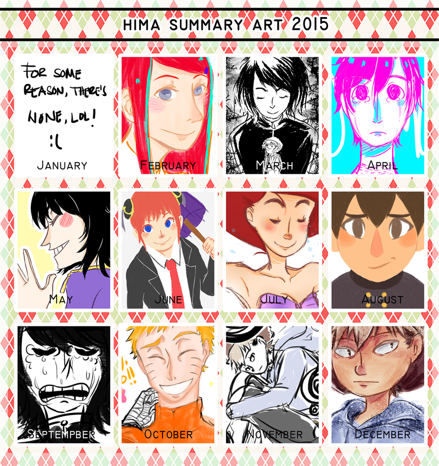 Hima Summary Art 2015 by TAIIIYOU