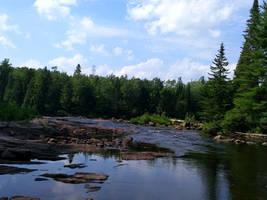 [Stock] River-Forest Landscape #1 by Binouchetruc