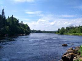 [Stock] River Landscape #3 by Binouchetruc