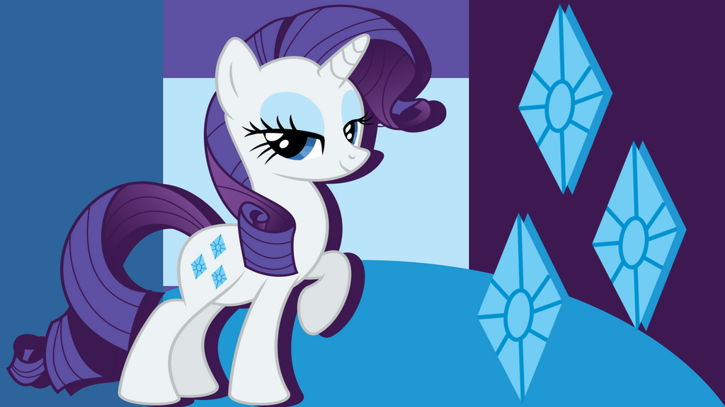Rarity Wallpaper by PrincessMedley13