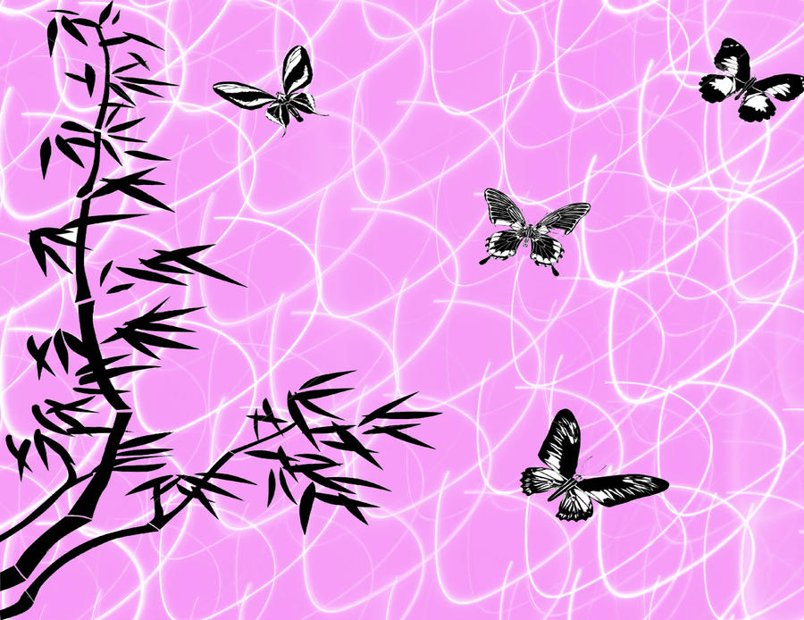 Light Pink Butterfly Wallpaper Butterfly Pink Wallpaper by