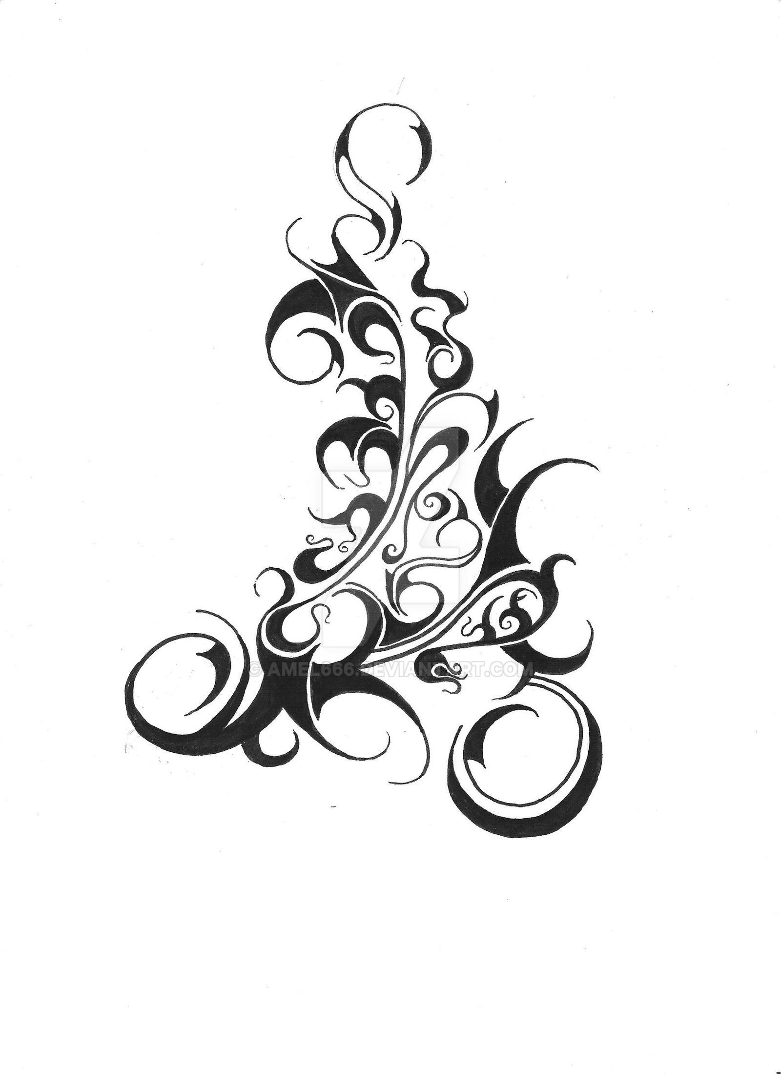 goth tattoo by amel666 on deviantart. Black Bedroom Furniture Sets. Home Design Ideas
