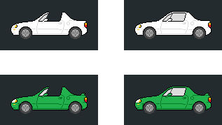 Honda del Sol Pixels