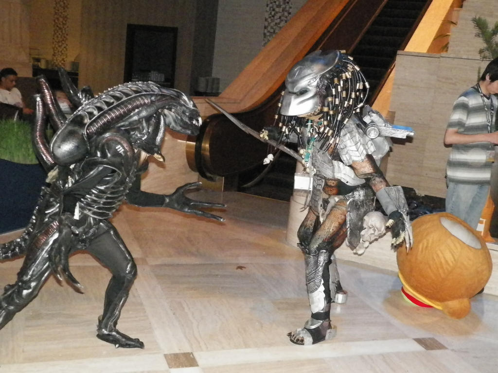 ALIEN V.S. PREDATOR by nos22