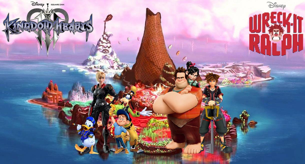 Kingdom Hearts III: Sugar Rush (Wreck-It Ralph)