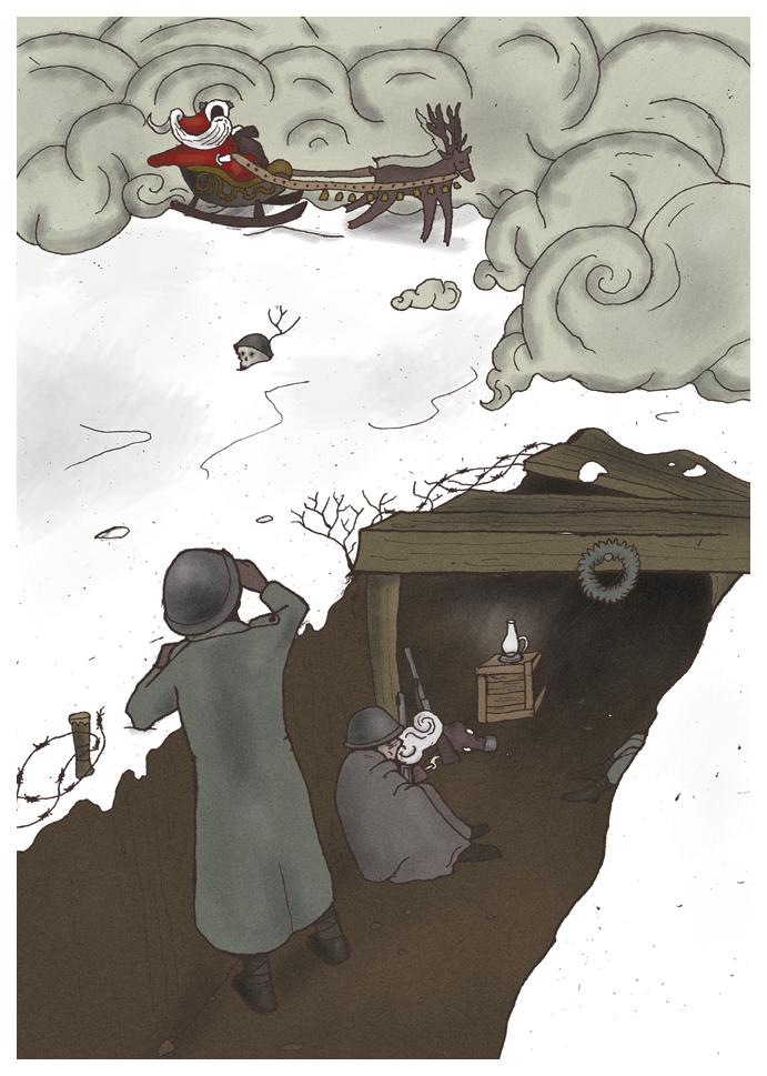 Christmas in Trenches by FerdinandBardamu