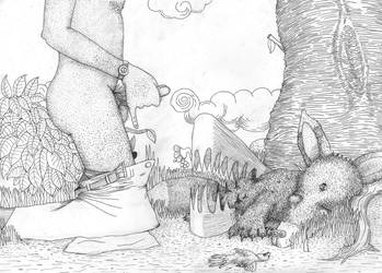 Dead Fox by FerdinandBardamu