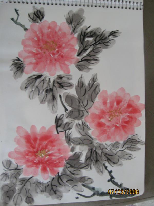 Asian Art Flowers 72