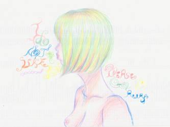 I Do Not Like You... Please Go Away! by Truc-Lescargot