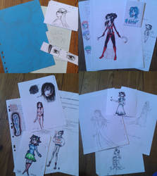 Little sketches collection by Truc-Lescargot