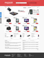 Moovin - computer store website by EffectiveFive