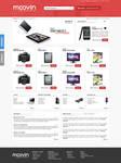 Moovin - computer store website