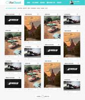 PixCloud web design by EffectiveFive