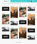 PixCloud web design