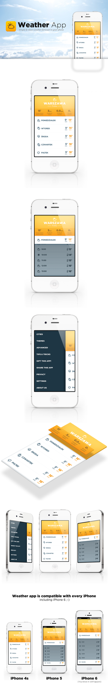 Weather forecast app by EffectiveFive