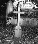 stock - cross in the graveyard by dkittystockage