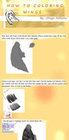 Tutorial : Coloring Wing with Paint Tool Sai