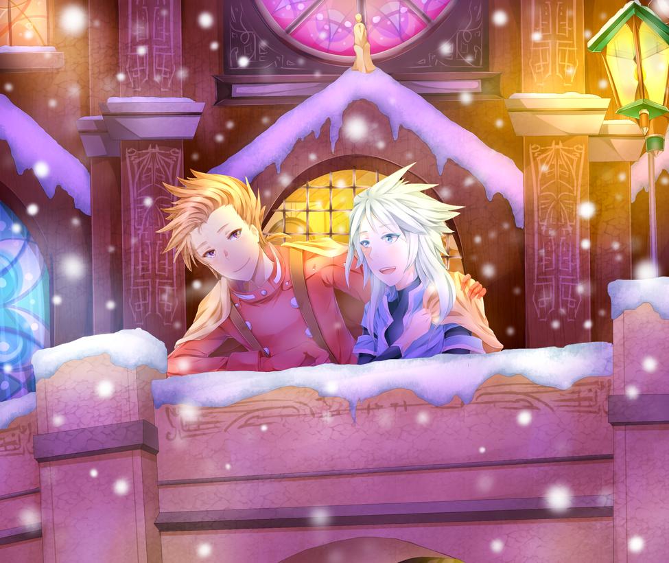 Sweet night at Flanoir by Elwyn-Ketsurui