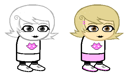 Roxy Lalonde Re Sprite By Samantartica On Deviantart