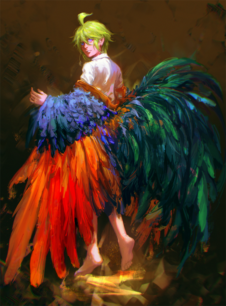 Rooster by Rene-Elric