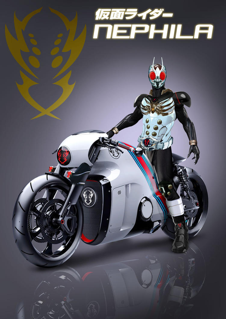 kamen-rider-NEPHILA by ifux